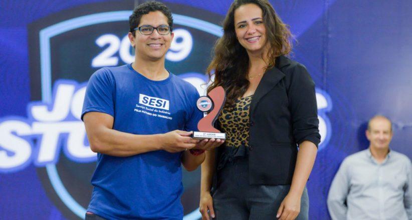 Premiação Jogos Estudantis 2019 – Sesi Araçás 03