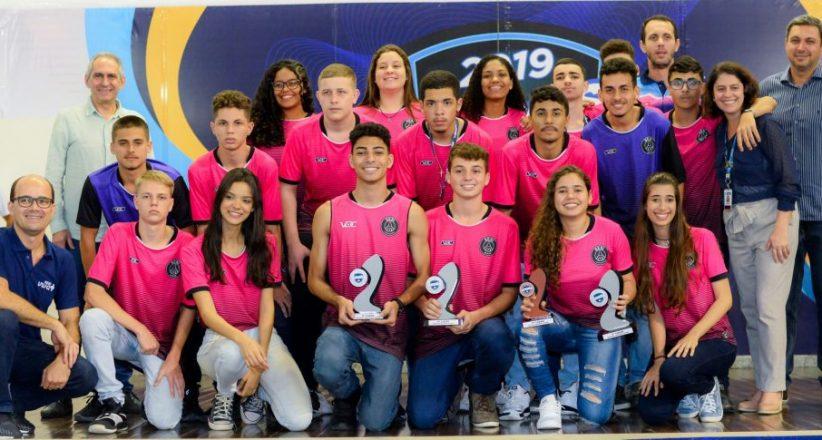Premiação Jogos Estudantis 2019 – Sesi Civit