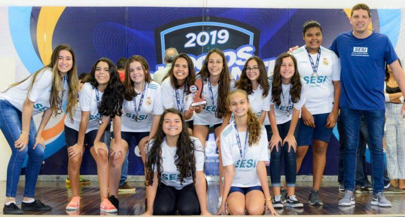 Premiação Jogos Estudantis 2019 – Sesi Cobilândia 02