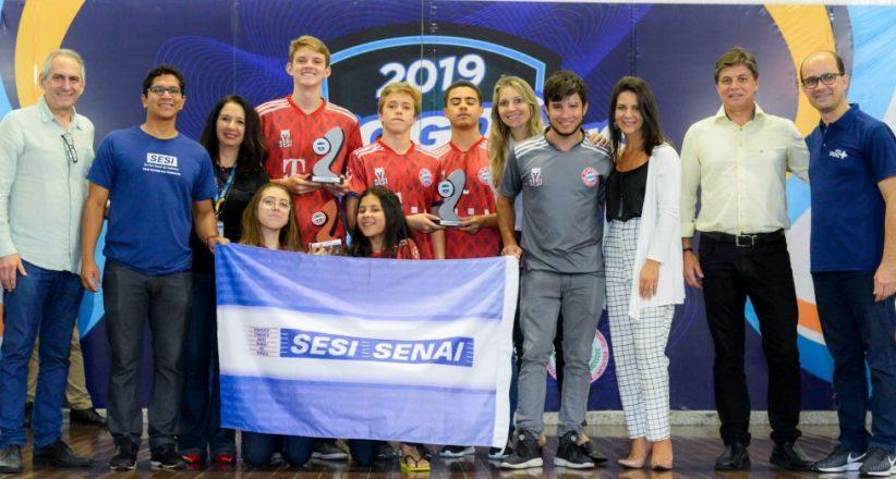 Premiação Jogos Estudantis 2019 – Sesi Jardim da Penha