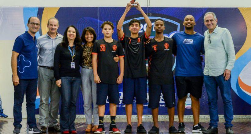 Premiação Jogos Estudantis 2019 – Sesi Maruípe