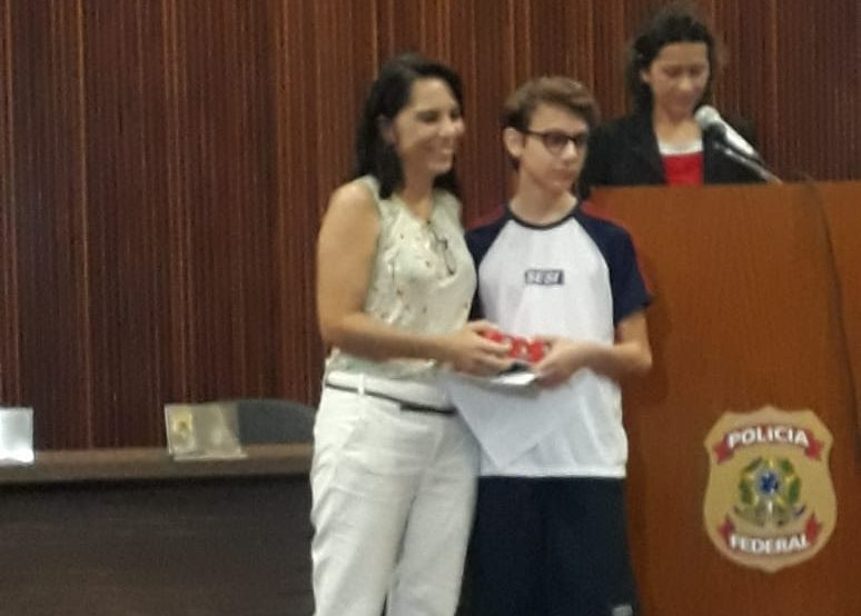 Premiação – Concurso de Redação da PF 05